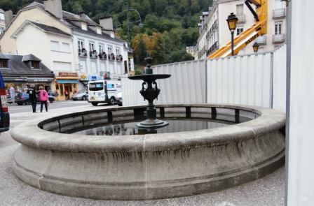 Cauterets fontaine